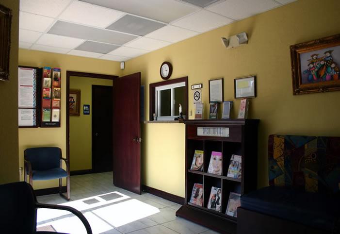 Doctors Office Wait Area