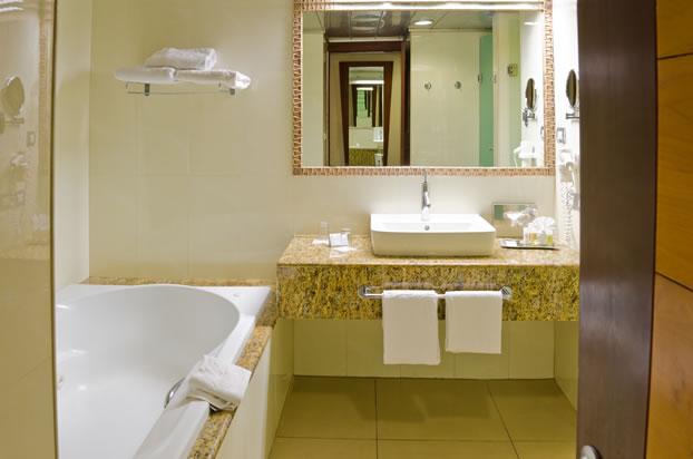 Hotel Guest Room Bathroom